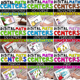 DIGITAL KINDERGARTEN MATH CENTERS FOR THE ENTIRE YEAR