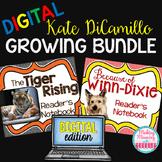 Kate DiCamillo Growing Bundle - PAPERLESS - 4rd-8th grade