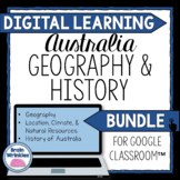 DIGITAL LEARNING: Australia's Geography and History BUNDLE