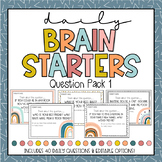 DIGITAL LEARNING Brain Starters Daily Prompts