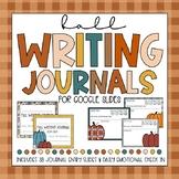 DIGITAL LEARNING- Fall Digital Writing Journals