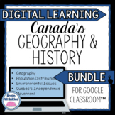 DIGITAL LEARNING: Geography and History of Canada BUNDLE