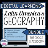 DIGITAL LEARNING: Geography of Latin America BUNDLE