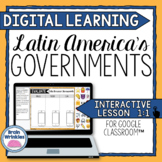 DIGITAL LEARNING: Latin America's Governments (SS6CG4)