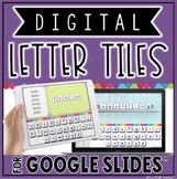 DIGITAL LETTER TILES FOR GOOGLE SLIDES™ | LOWERCASE LETTERS