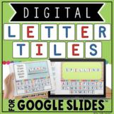 DIGITAL LETTER TILES FOR GOOGLE SLIDES™ | UPPERCASE LETTERS