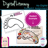 DIGITAL LITERACY- My Digital Footprint Assignment (NO PREP