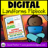 Landforms DIGITAL Flipbook (Google Classroom Distance Lear