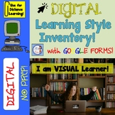 DIGITAL Learning Style Inventory on Google Forms