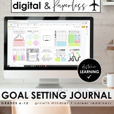 DIGITAL Lifestyle Planner & Journal for STUDENTS: Goal Setting DISTANCE LEARNING