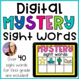 DIGITAL Literacy Center - Mystery Sight Words - (First Grade)