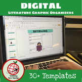 DIGITAL ELA Graphic Organizers- For Use with Google Slides