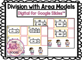 DIGITAL Long Division with Area Models for Google Slides 4.4E