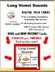 DIGITAL Long Vowel Sounds ... DRAG and DROP, Grades 1-2 BOOM Internet™ Task C