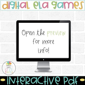 Making Words Digital Activities BUNDLE