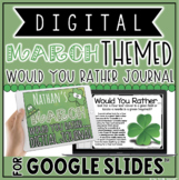 "DIGITAL MARCH THEMED ""Would You Rather..."" JOURNAL IN GOOG"