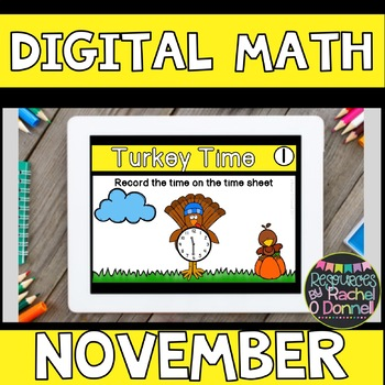 DIGITAL MATH CENTERS NOVEMBER