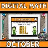 DIGITAL MATH CENTERS OCTOBER Halloween for Google Slides ®