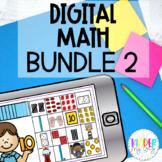 Digital Math Activities for Kindergarten and 1st Grade Bun