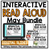 DIGITAL MAY BUNDLE Second Grade Read Aloud GOOGLE SLIDES TM