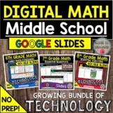 DIGITAL MIDDLE SCHOOL MATH GOOGLE SLIDES DISTANCE LEARNING