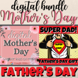 DIGITAL *MOTHER'S Day * FATHER'S Day Distance Learning Goo