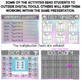 DIGITAL MULTIPLICATION CHOICE BOARD IN GOOGLE SLIDES™