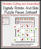 DIGITAL MULTIPLY AND DIVIDE FRACTIONS CHRISTMAS ACTIVITY:  GOOGLE DRIVE