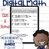 DIGITAL Math Practice for the First Grade MD Standards BUN
