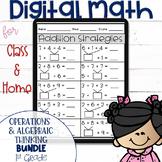 DIGITAL Math Practice for the First Grade OA Standards BUN