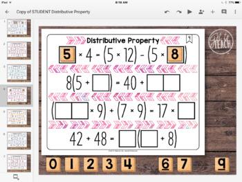 DIGITAL Math Tiles: Distributive Property