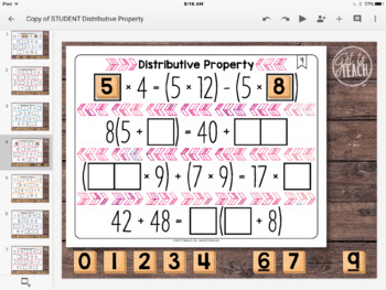 DIGITAL Math Tiles: Distributive Property