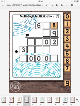 DIGITAL Math Tiles: Multi-Digit Multiplication
