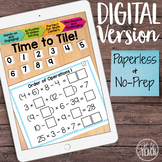 DIGITAL Math Tiles: Order of Operations 1 [Without Exponen