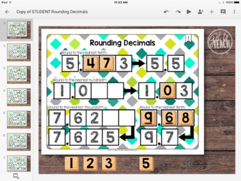 DIGITAL Math Tiles: Rounding Decimals