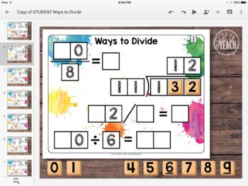 DIGITAL Math Tiles: Ways to Divide