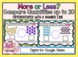 DIGITAL More or Less - Compare Quantities up to 20 with Nu