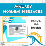 DIGITAL Morning Meeting Messages for January