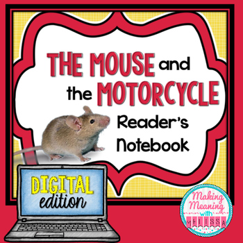 DIGITAL Mouse and the Motorcycle Unit - 3rd-5th grade