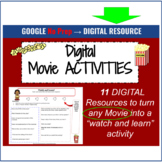 DIGITAL Movie Review Templates for Google