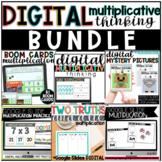DIGITAL Math//Multiplication//Google Slides//GROWING BUNDL