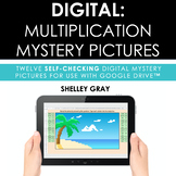 DIGITAL: Multiplication Mystery Pictures for Basic Facts |