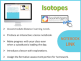 DIGITAL NOTEBOOK [FOR DISTANCE LEARNING]:  Isotopes