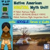 DIGITAL Native American Myth Unit for Google Classroom/Dis