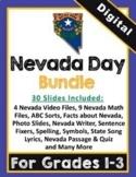 DIGITAL: Nevada Day Bundle for Grades 1-3