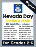 "DIGITAL: Nevada Day ""Mega"" Bundle & Math for Elementary Grades"