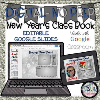 DIGITAL New Year's Class Book