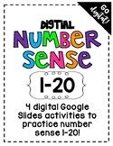 DIGITAL: Number Sense 1-20
