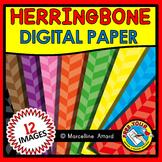 HERRINGBONE DIGITAL PAPER BACKGROUNDS RAINBOW CLIPART