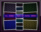 DIGITAL PAPER PACK - Fractal Designs: *All Seeing*